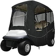 Classic Accessories Fairway Golf Cart Deluxe Enclosure, Black, Short Roof