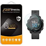 (3 Pack) Supershieldz Designed for Garmin Forerunner 245 and Forerunner 245 Music Tempered Glass Screen Protector, Anti Scratch, Bubble Free