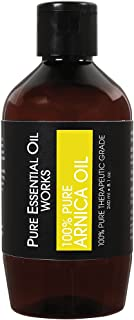 Pure Essential Oil Works 100% Pure Arnica Oil, 100% Pure, Natural, Paraben-Free and Therapeutic Grade, 8 Ounces