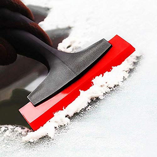 Ice Scraper for Cars, Deicing Shovel Windscreen Scraper Snow Blower Snow Shovel Windshield Scraper Remover Snow Brush Grip Works Best on Any Size Vehicle