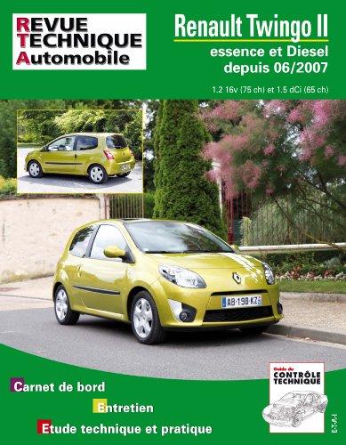 Rta B733 Twingo II 06/2007> Ess 1.2 + 1.5 Dci
