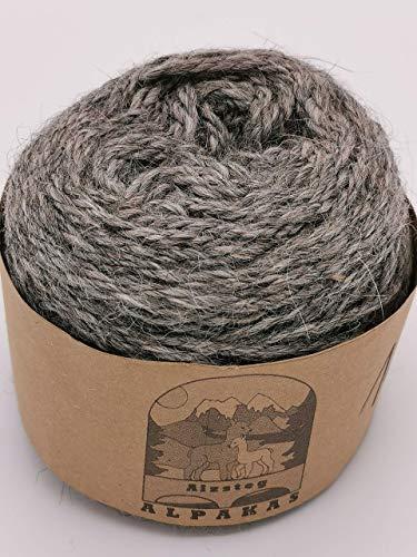 Feinstes Alpaka Handstrickgarn Alpakawolle von Alzsteg Alpakas | 100% Alpaka Wolle