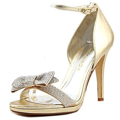 Caparros Zolina Women US 9 Gold Sandals