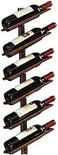 HTTJJ Stylish Wall-Mounted Wine Rack, Wall-Mounted Wine Bottle Rack, Cork Storage Store, Champagne, Home & Kitchen Storage...