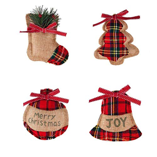 jemous kerstdecoraties Kerstmis hanger hangende decoratie hangende versieringen hangend ornament voor open haard kerstboom HomeParty DIY handwerk decoratie