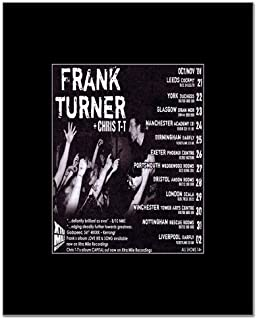 Music Ad World Frank Turner - UK Tour 2008 Mini Poster - 14x10.8cm