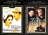 Gold Collectors Edition Love Letter & Magic of Ordinary Days Hallmark 2 Pack DVD Bundle Double Feature