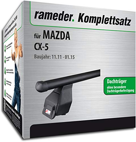 Rameder Komplettsatz, Dachträger Tema für Mazda CX-5 (118788-10207-15)