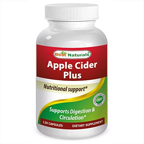 Best Naturals Apple Cider Plus 500 Mg 120 Capsules by Best Naturals