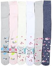 TupTam Leotardos de Colores para Niñas, Paquete de 6