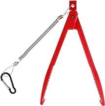 LEIPUPA Alicate De Pesca Grip Grip Holder Body Holder Alicate Com Mosquetão De Cordão - Vermelho