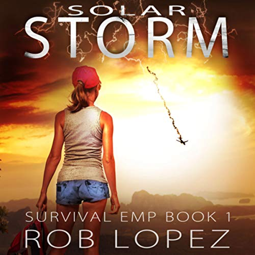 Solar Storm audiobook cover art