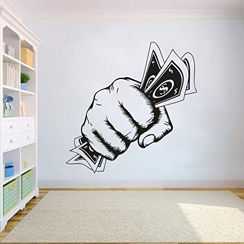 Geld erste dekorative Kunst Aufkleber Büro kreative Dekoration Wandaufkleber Hauptdekoration kann Farbe angepasst werden 42x42cm