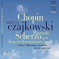 CHOPIN/ PIANO CONCERTO IN F MINOR & MAZURKAS & SCHERZO