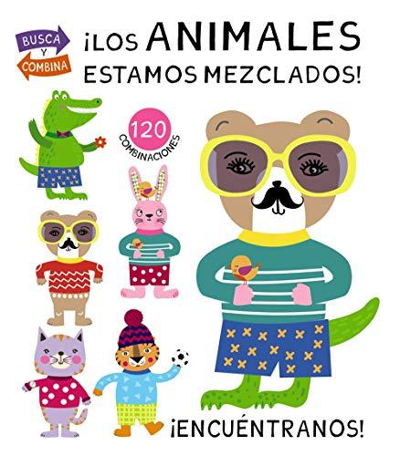¡Los animales estamos mezclados! (Castellano - A Partir De 0 Años - Manipulativos (Libros Para Tocar Y Jugar), Pop-Ups - Otros Libros)