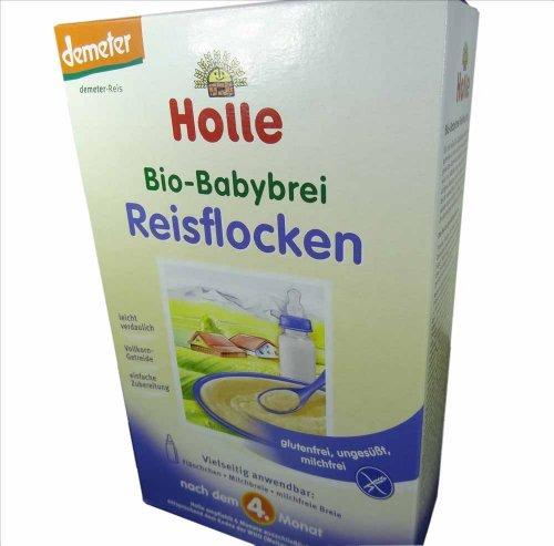 Holle - Crème de riz après le 4ème mois