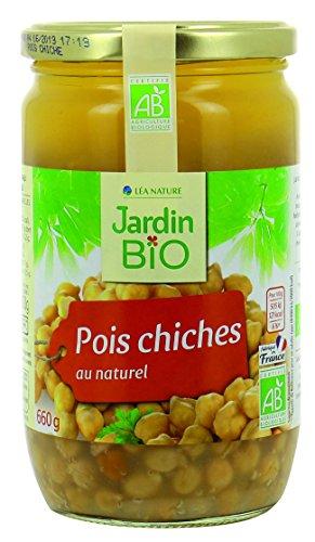 Jardin Bio Pois Chiches 660 g - Pack de 6