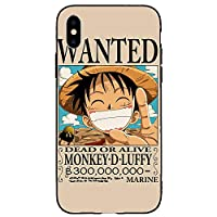iphone XR ケース カバー アニメ 漫画 ワンピース one piece デザイン ケース グリップ ガラス プリント TPU ゾロ スマホケース カバー-A_for-iphone_XR