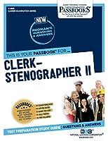 Clerk-Stenographer II