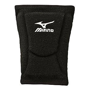Mizuno 480105.9090.05.M LR6 Volleyball Kneepad, Black, Medium