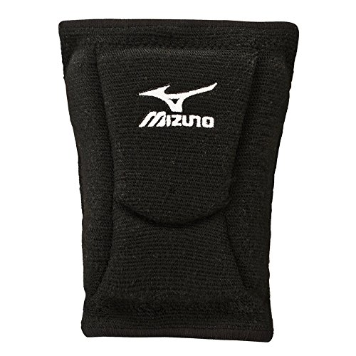 Mizuno LR6 Volleyball Kneepad, Black, Large