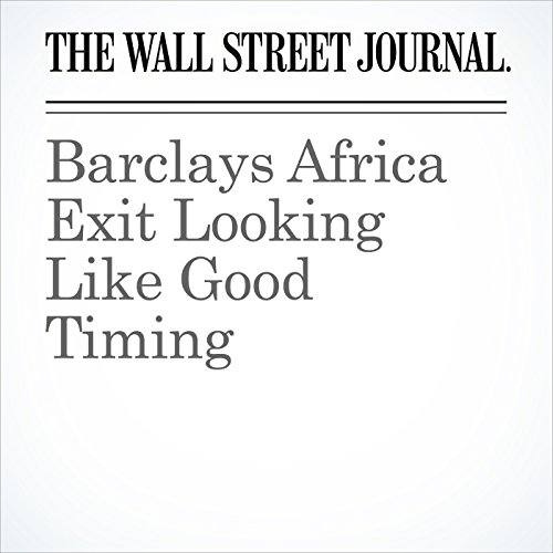 Barclays Africa Exit Looking Like Good Timing copertina