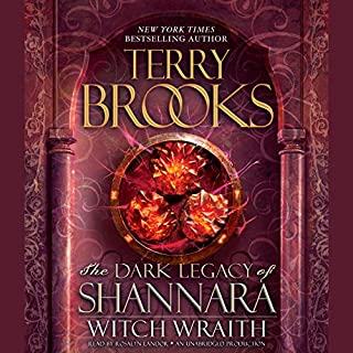 Witch Wraith audiobook cover art