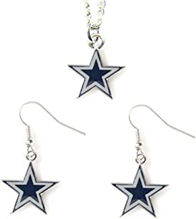 Kira Riley Gold Plated Dallas Cowboys Football Pendant for Chains and Necklaces