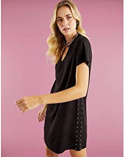 T-SHIRT DRESS SUEDE