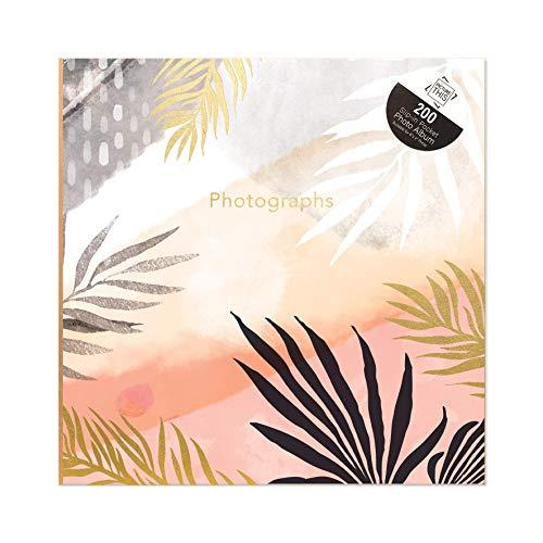 Tallon Tropical Sunset Palm Leaves - Álbum de fotos (15,2 x 10,2 cm, capacidad para 200 fotos)