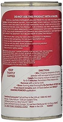 Magic Red Shaving Powder 133 ml Extra Strength Depilatory (3-Pack) by