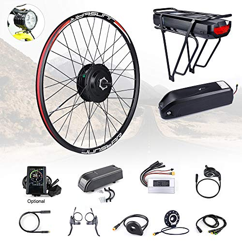 Bafang 8fun 48V 500W Front Wheel Hub E-Bike Conversion Kit with Battery