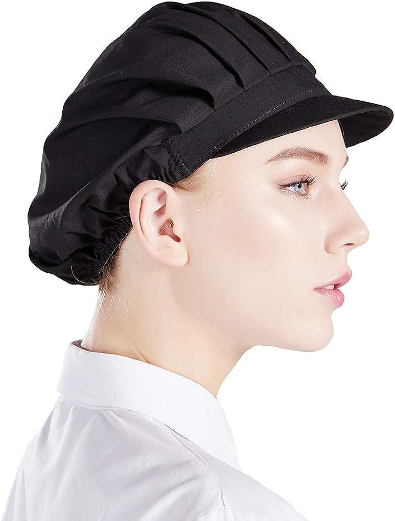 Nanxson 3pcs Unisex Chef Hat Cap Kitchen Max 84% OFF Low price Elastic Coo Baking