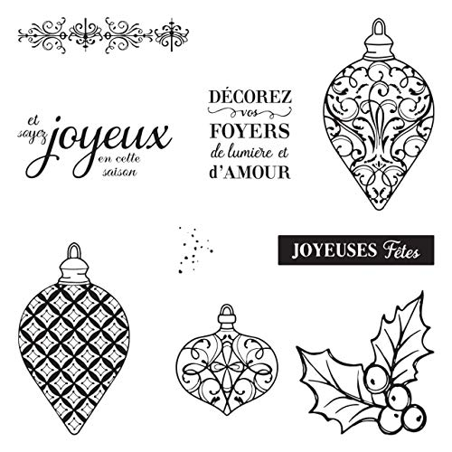 Christmas New Year 1PC Metal Cutting Die for Paper Making Merry Christmas Embossing Frame Card Clear Stamps Stampin Up Set-Included 1 PC Cutting DIE