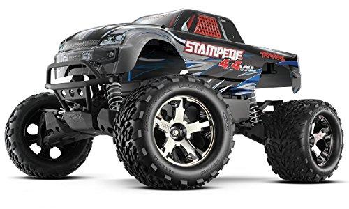 Traxxas 67086-4 Stampede 4x4 BRUSHLESS Monster Truck VXL TSM 2,4GHz Silber