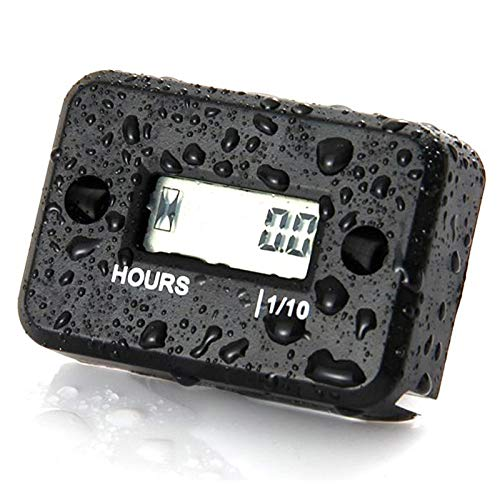 Temporizador CCI B708BK impermeable temporizador digital despertador for la motocicleta ATV administrador de tiempo