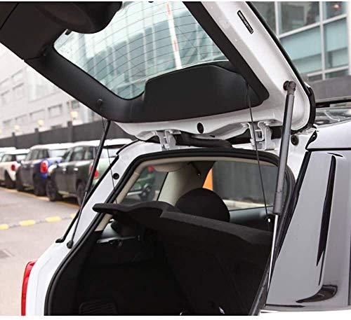 2pcs tapa del tronco del choque del puntal for Mini Cooper JCW R56 R55 R50 R58, posterior del tronco de puerta de coche de elevación amortiguadores de gas resortes Antenas de choque soporte del acero