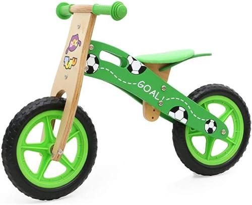 L-YIN Vélo D'équilibre RX2419 en Bois Solde La Formation Bicyclette 2 3 4 5 6 Ans Enfant De Cadeau