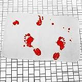 Tappetino da bagno per bagno e bagno (tappeto a sangue)