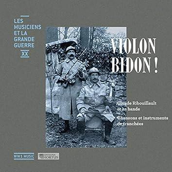 Violon bidon ! (Les musiciens et la Grande Guerre, Vol. 20)
