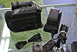 Panasonic Palmcorder VHSC PV-IQ404 PalmSight VHS C w/Charger, DC Output Cable & Battery