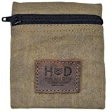 Hide & Drink, Water Resistant Waxed Canvas Condom Pouch, Change Valuables Tech Pocket Purse, Classic Partner Gift, Travel & Honeymoon Essentials, Handmade Includes 101 Year Warranty :: Fatigue