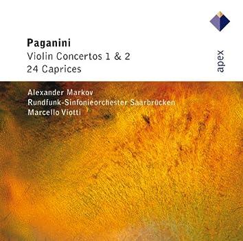 Paganini : Violin Concertos 1, 2 & 24 Caprices  -  APEX