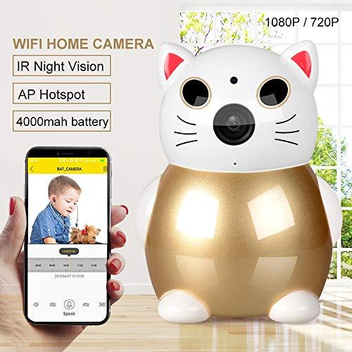 ZTKBG Couleur sans Fil Vidéo Baby Monitor 1080P bébé Nanny caméra de sécurité WiFi Night Vision Surveillance bébé Caméra IP