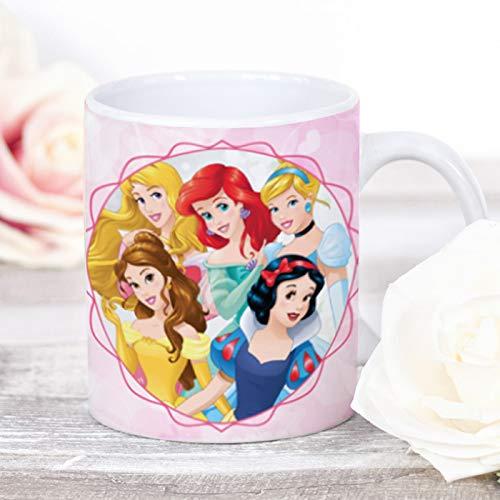 Disney Princess Tasse aus Keramik, offizielle Disney-Prinzessinnen-Tasse