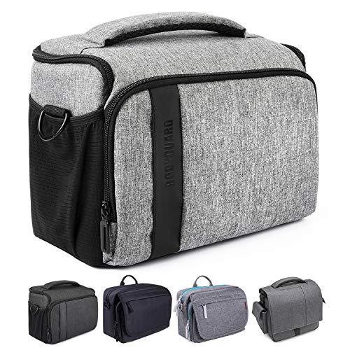 Bodyguard Kameratasche SLR XL+ Paris Grau Fototasche Für Spiegelreflexkameras Für Body Und 3-4 Objektive