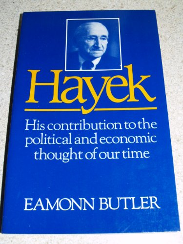 Hayek: His Contribution to the Political and Economic Thought of Our Timeの詳細を見る