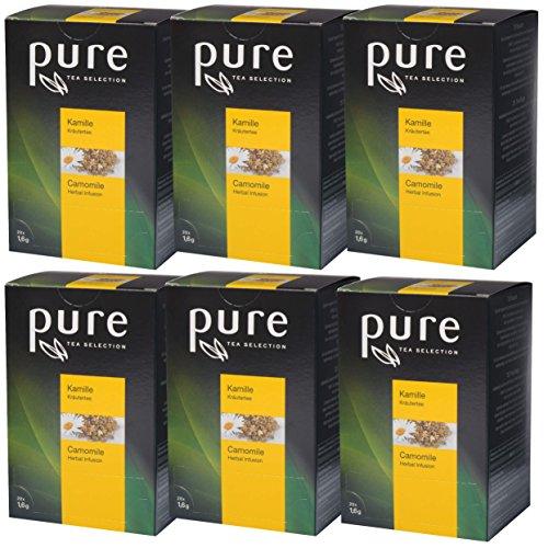 PURE Tea Selection Kamille Kräutertee 6 x 20 Beutel Tee
