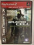 Tom Clancy's Splinter Cell - PlayStation 2 (Jewel case)