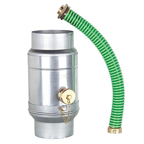 Regenwassersammler mit Schlauchanschluss-Set, DN100